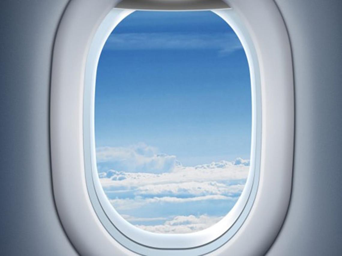 شیشه هواپیما