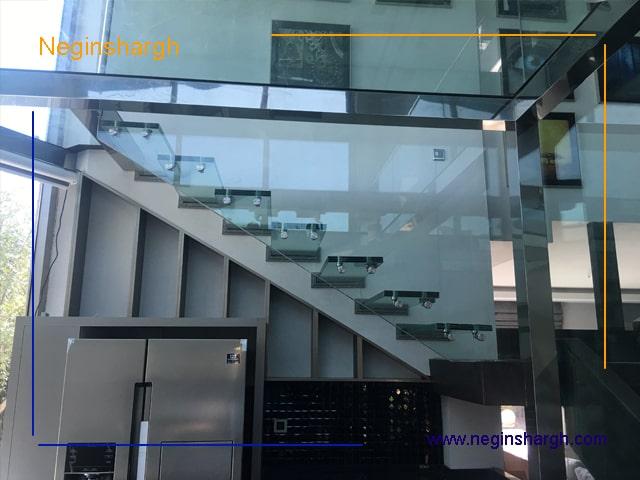 پروژه اجرا شده پله توسط نگین شرق