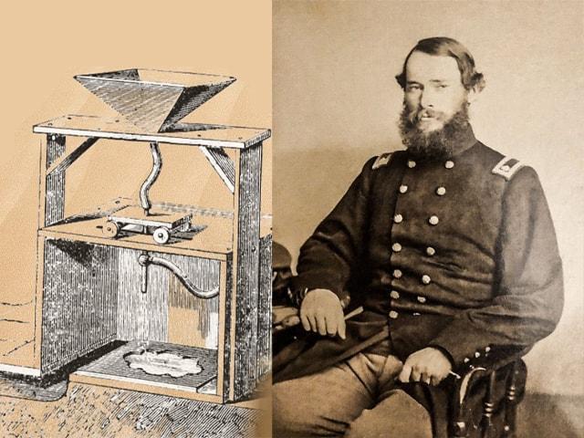 مخترع دستگاه سندبلاست