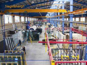 سالن ۳ خط تولید شیشه سکوریت – لمینت ایمنی شرق