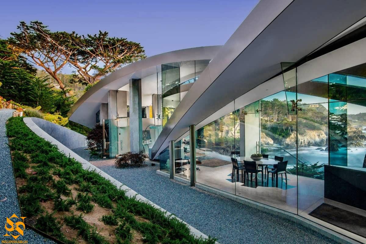 شیشه سکوریت برای ویلا